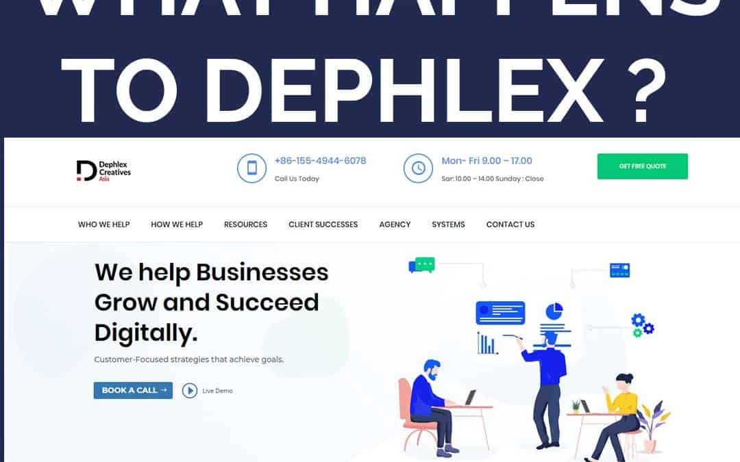 What Happens To Dephlex?